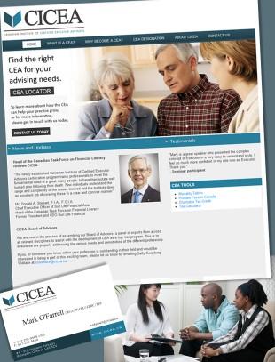 CICEA Web/Print Corporate Branding